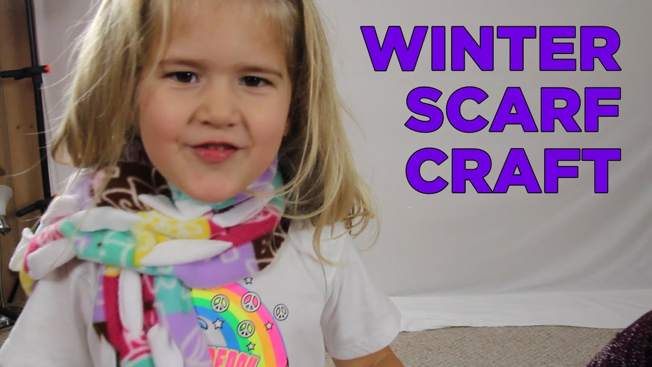 Scarfs For Kids To Make