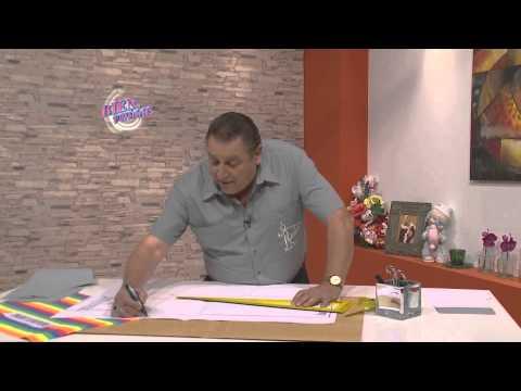 Hermenegildo Zampar - Bienvenidas en HD -  Enseña el molde del pantalón de jogging para niños.