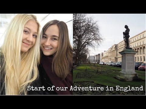 Erasmus in England - 1 - Jaká byla naše cesta a první den?