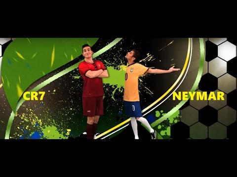 Neymar vs Cristiano Ronaldo Rap Battles World Cup 2014