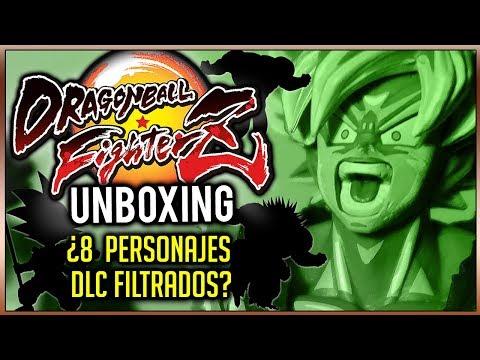 Unboxing DRAGON BALL FighterZ y... ¿FILTRADOS SUS 8 PERSONAJES DLC? ¡Lista dentro!