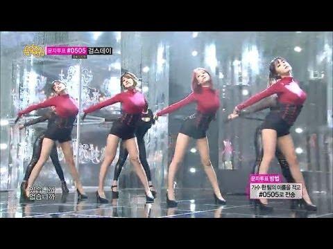 [hot] Rainbow Blaxx - Cha Cha, 레인보우 블랙(재경,고우리,오승아,현영) - 차차, Show Music Core 20140125 video