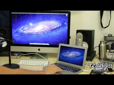 How To: 2011 MacBook Air to iMac as an External Display