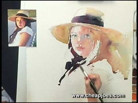 Watercolor Portraits Tutorial Watercolor Portraits by