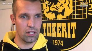 Tiikerit lehdistötilaisuus ke 8.10.2014 Janne Heikkilä