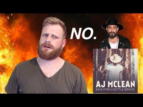 AJ McLean - Back Porch Bottle Service | Reaction