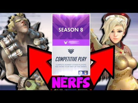 MERCY / JUNKRAT NERFS in Overwatch Season 8 - How Will They Affect The Meta / Mercy Nerfed Again