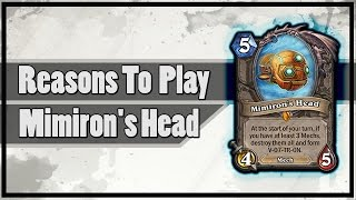 Hearthstone: Reasons To Play Mimiron's Head (V-07-TR-0N)