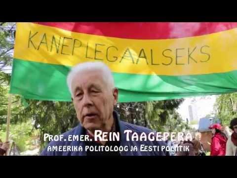 Politoloog Rein Taagepera PhD arvamus seoses kanepi legaliseerimisega