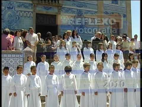 Primeira Comunh�o - Par�quia de Santa Marinha de Cortega�a