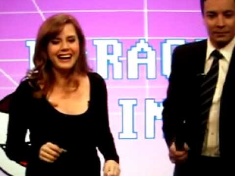 Late night with Jimmy Fallon: karaoke: Amy adams Video