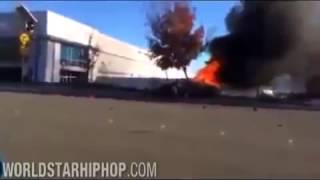Paul Walker Dead  - DRAMATIC Car crash