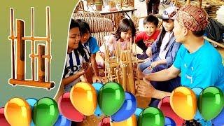 Download Lagu Lagu Balonku Ada Lima Versi Angklung | Alat Musik Tradisional Daerah Jawa Barat Gratis STAFABAND