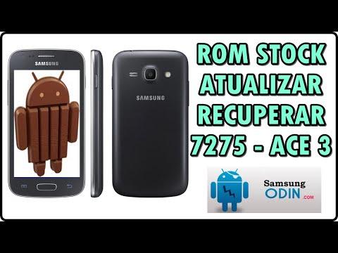 Como INSTALAR a ROM original de fábrica STOCK ROM l Galaxy Ace 3 - 7275