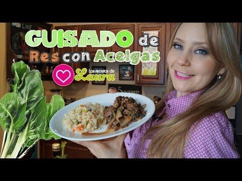 Guisado de Res con Acelgas ♥ Beef Stew with Chard