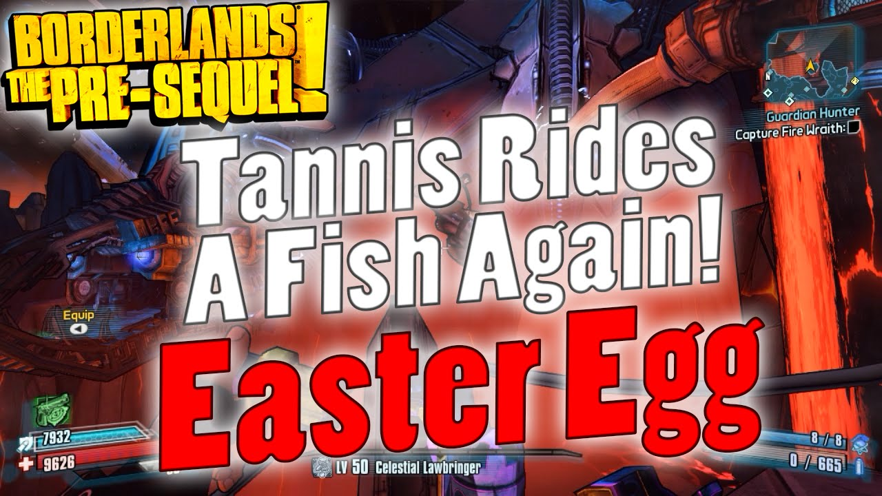 Borderlands Tannis Fish Tannis Rides a Fish Again