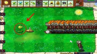 Plants vs Zombies Team Pea PvZ vs Team Winter Melon Pult