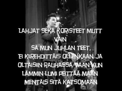 Antti Tuisku - Lammin Lumi Peittaa Maan