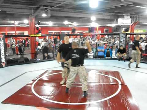 Bad Ass Marine Black Belt IT At UFC Gym In Corona CA May 14th 2011 Image 1
