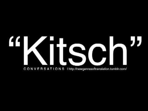 conversations on kitsch
