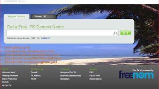 download lagu Membuat Domain Gratis Dot Tk gratis