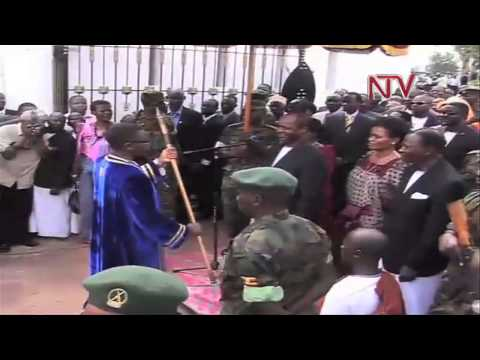Katikiro Peter Mayiga takes Office
