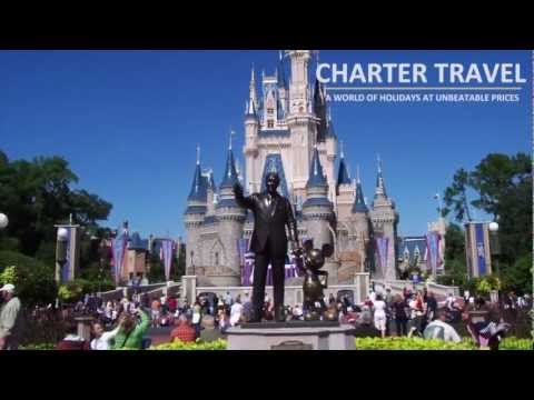 Charter Travel - Tailor Made Holidays to Florida, Walt Disney World & Worldwide!