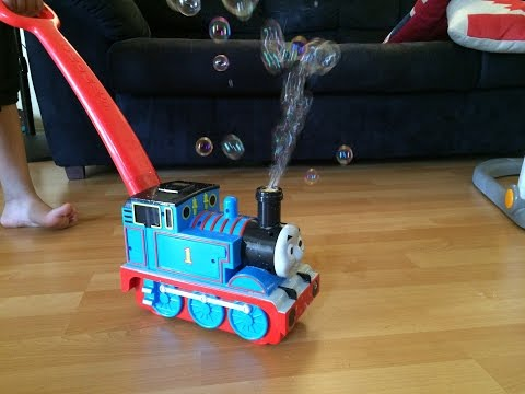 Thomas And Friends Toy Motorized Bubble Maker Thomas The Tank Engine