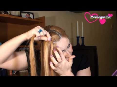 como hacer una  TRENZA FRANCESA./ Peinado . moderno