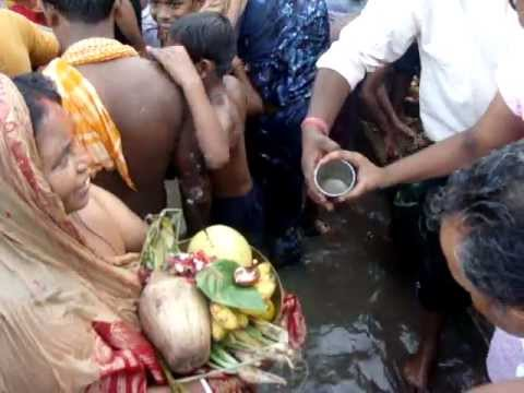 Chhath Puja at River