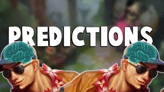 PREDICTIONS!!! | League of Legends Predictions Montage (2016)
