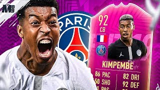 92 FUTTIES KIMPEMBE REVIEW | END GAME?! FUTTIES KIMPEMBE PLAYER REVIEW | FIFA 19 Ultimate Team