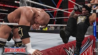 WWE 2K16 Wrestlemania 32 - Triple H vs Roman Reigns WWE World Heavyweight Championship Match!