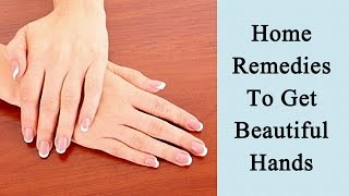 Hand Care Tips - 3 Natural Beauty Tips For Hand Care
