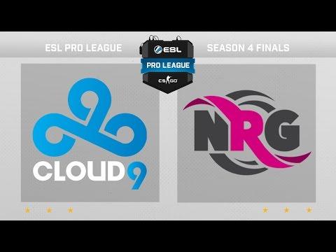 CS:GO - Cloud9 vs. NRG [Cache] - Finals ESL Pro League Season 4 - Day 1 - Group B [2/3]