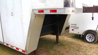 USED: 8.5x28 Pace American   Enclosed Trailer