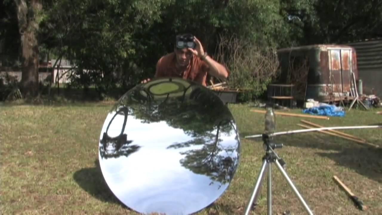 46 Quot Parabolic Mirror Steam Boiler Solar Power Steel Woll