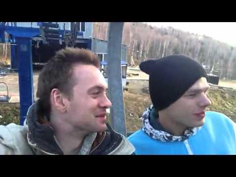 Александр Соколовский и Влад Канопка в Иркутске