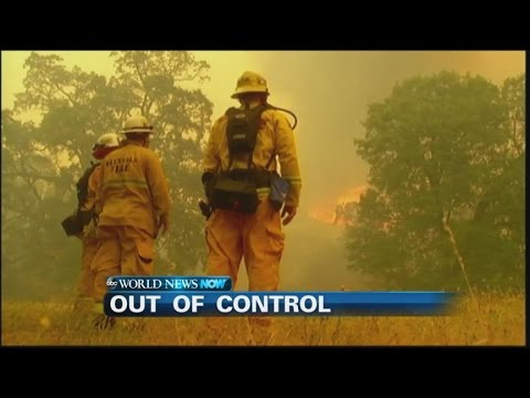 Devastating Wildfires Destroy Homes in Northern California  | ABC News