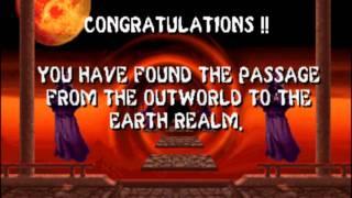 Mortal Kombat 2 - Battles with Smoke, Jade, Noob Saibot (Arcade - 1993)