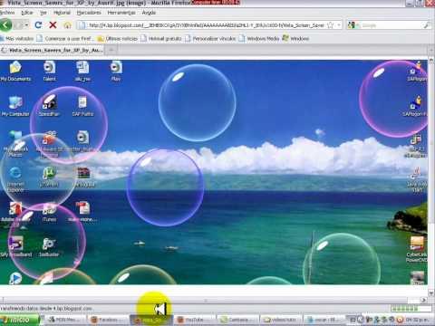 Protector de pantalla burbujas con movimiento gratis - Imagui