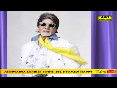 Aishwarya carries Twins: Big B Family happy