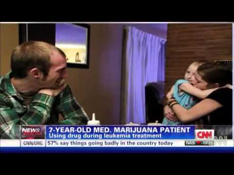 Medical - MARIJUANA - POT - WEED - 420 used to Treat A 7-year-old leukemia Cancer patient