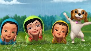 Male Banthu Male Rain Song | Kannada Rhymes for Children | Infobells