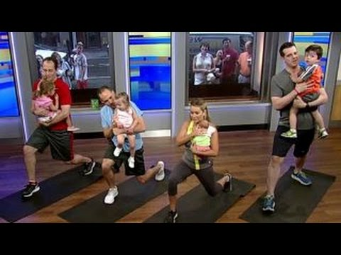 Best exercises to get fathers back in shape