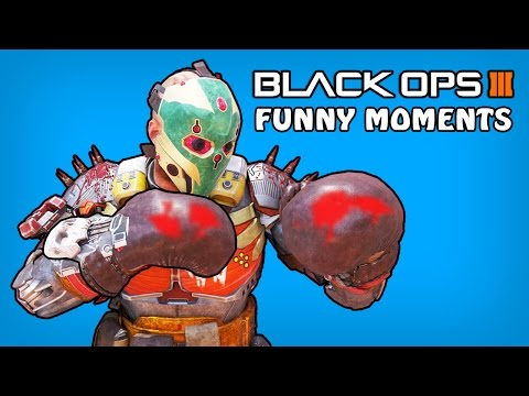 Black Ops 3 Funny Moments - Prizefighters Boxing Gloves, Crossmap, Joocy Rage (BO3 Funny Moments)