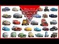Disney Pixar Cars 3 All Characters Cars 2017
