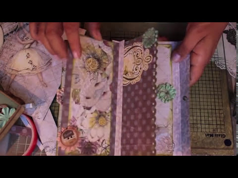 Scrapbooking Prima How-To Make a Super Cute & Fast Journal.m4v