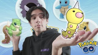 IF YOU'RE NOT VOTING FOR WEEDLE YOU'RE WRONG (Weedle, Gastly Community Day in Pokémon GO)