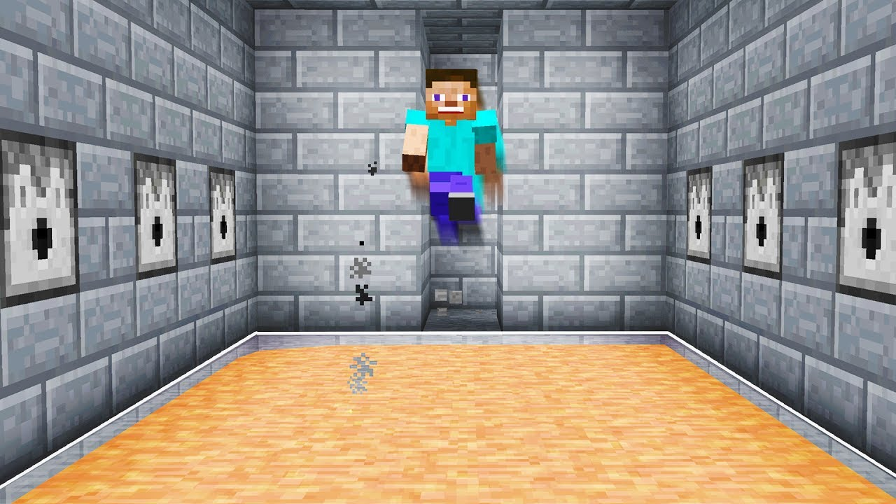 DISAPPEARING LAVA FLOOR TRAP TROLL! (Minecraft DEATHRUN)